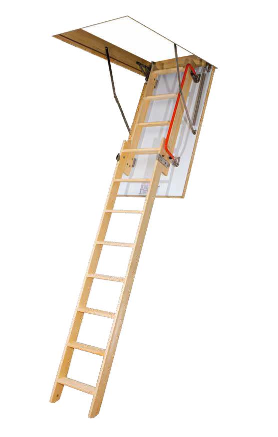 FAKRO Escalier escamotable coulissant LDK, escalier en bois ~ Escaliers Escamotables En Bois
