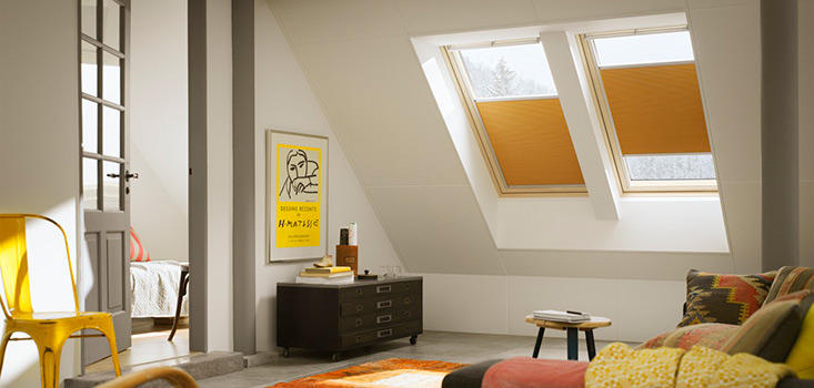 velux store pliss occultant isolant fhc. Black Bedroom Furniture Sets. Home Design Ideas