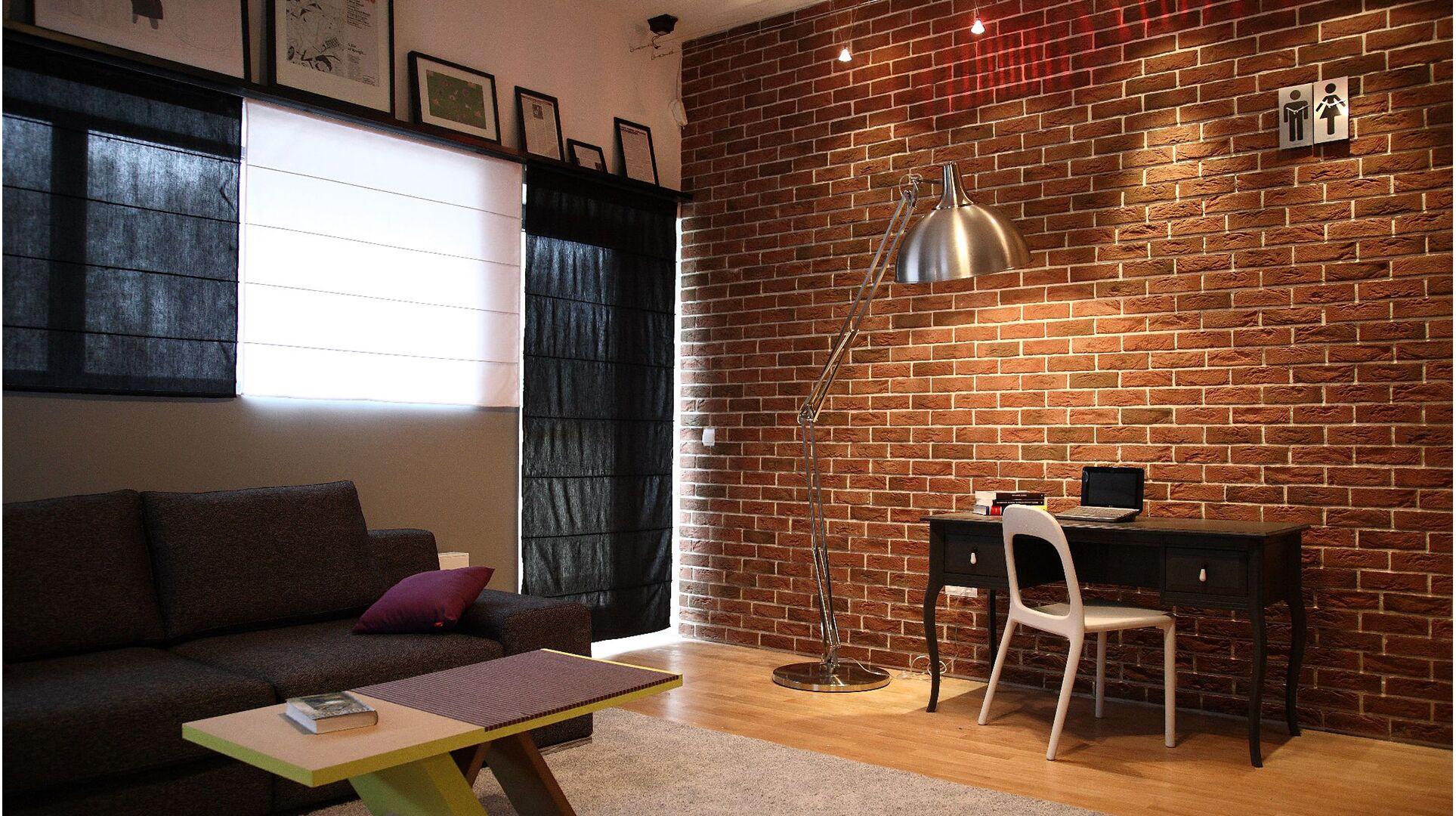 Country 640 brique en b ton pour mur ext rieur for Mur design exterieur